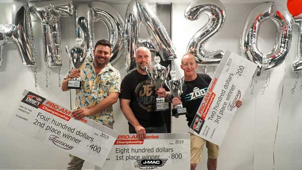 Congratulations to the 2019 FAMOUS for Car & Bike Enthusiasts PRO-AM Series winners