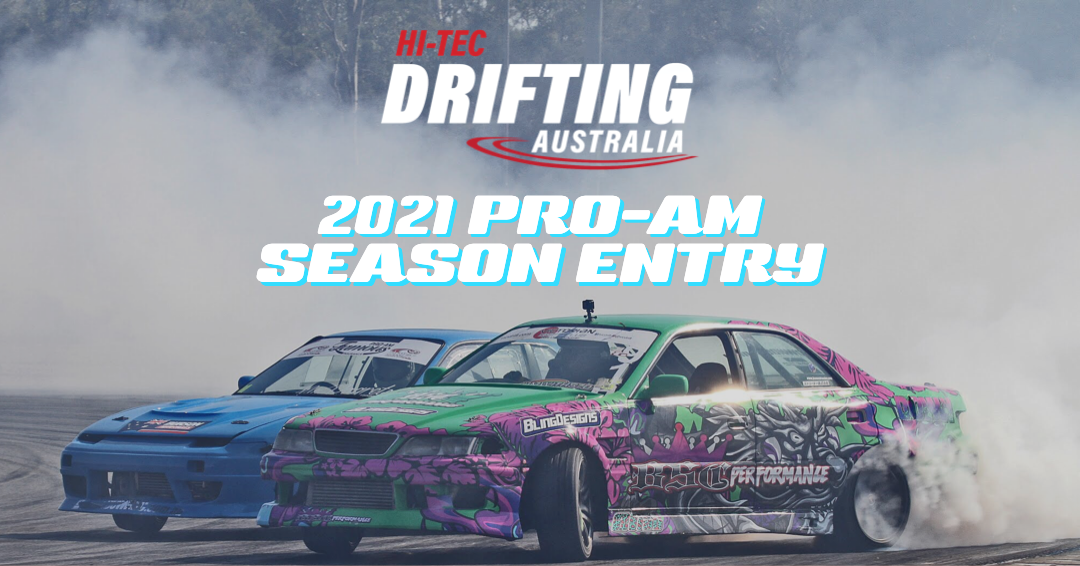 2021 PRO-AM SEASON ENTRY